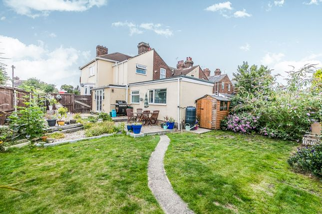 Thumbnail End terrace house for sale in Weston Road, Colchester