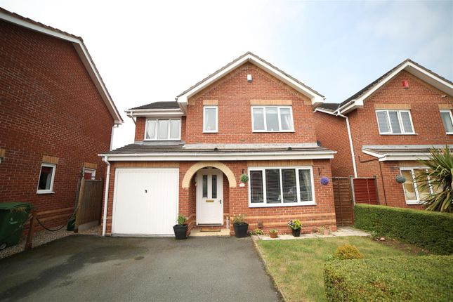 Thumbnail Detached house for sale in Hedingham Road, Leegomery, Telford