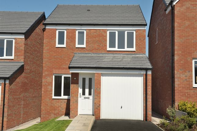 "Thumbnail Detached house for sale in ""The Rufford"" at Riber Drive, Chellaston, Derby"