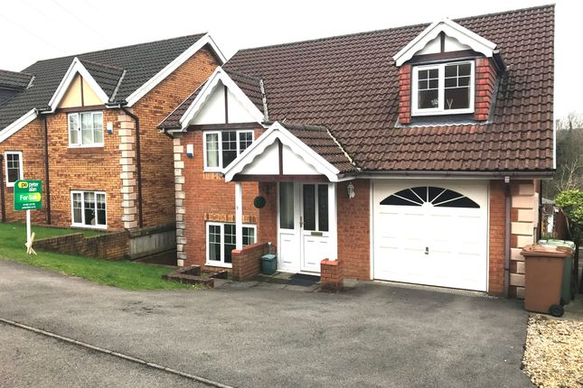 4 bed detached house for sale in Bramblewood Court, Pengam, Blackwood