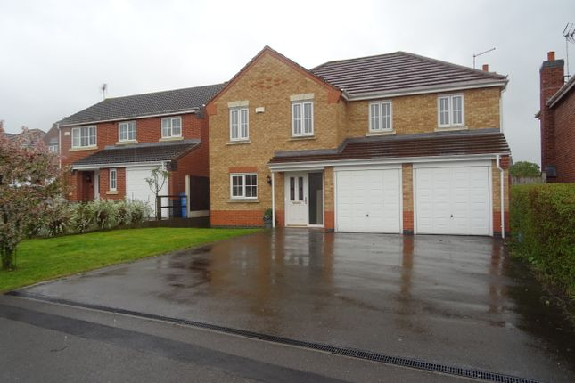 Thumbnail Detached house to rent in Lindbergh Close, Worksop