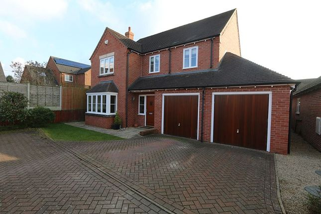 Thumbnail Detached house for sale in Bassa Road, Baschurch, Shrewsbury, Shropshire