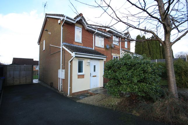 Thumbnail Semi-detached house to rent in Hurricane Grove, Tunstall, Stoke-On-Trent