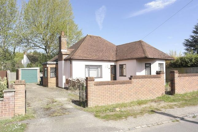 Thumbnail Detached bungalow to rent in Chapel Road, Flackwell Heath, High Wycombe