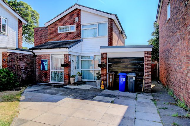 Thumbnail Detached house for sale in Welshpool Close, Manchester