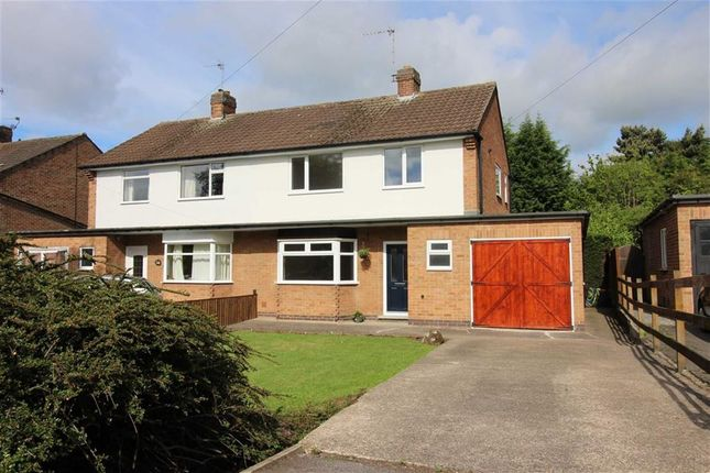 Thumbnail Semi-detached house for sale in Allestree Lane, Allestree, Derby