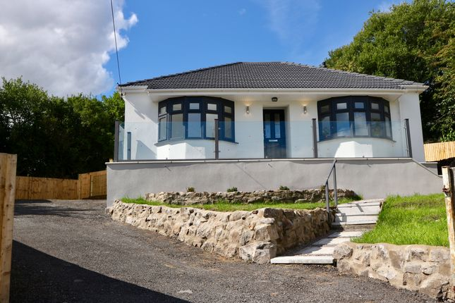 Thumbnail Detached bungalow for sale in Vaynor Road, Cefn Coed, Merthyr Tydfil