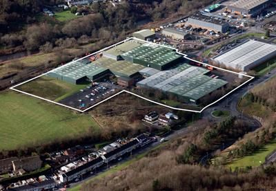 Thumbnail Light industrial for sale in Former Sekisui Alveo Manufacturing, Merthyr Industrial Park, Cardiff Road, Troedyrhiw, Merthyr Tydfil