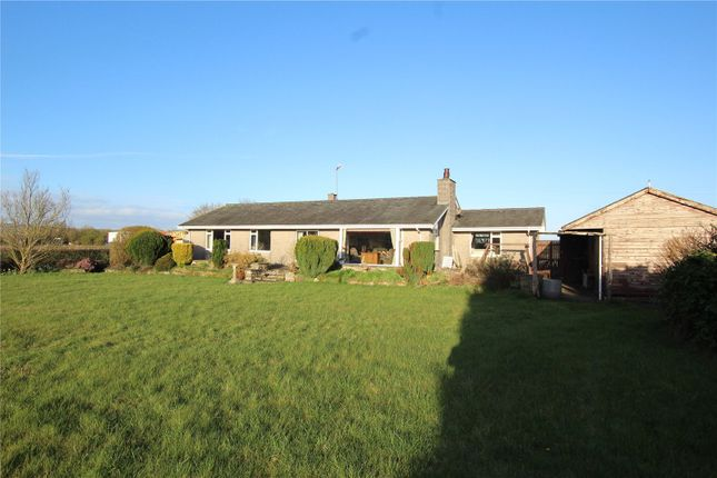 Thumbnail Detached bungalow for sale in Copper Beeches, Warehouse And Land, Foulshaw Lane, Levens, Kendal