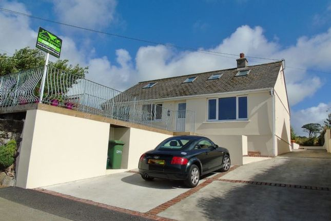 Thumbnail Detached bungalow for sale in Crowlas, Penzance, Cornwall.