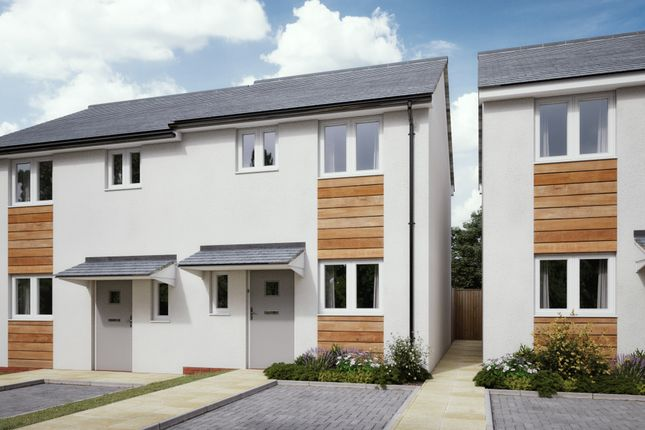 CGI Exterior of The Vines, Henry Avent Gardens, Plymouth Devon PL9