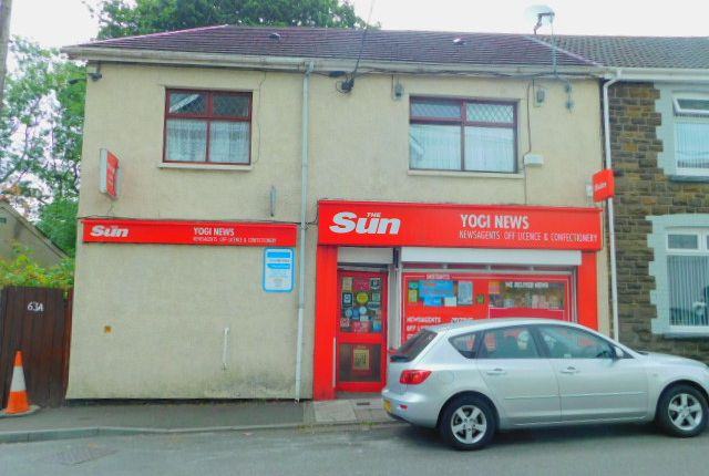 Thumbnail Retail premises for sale in Jubliee Road, Godreaman, Aberdare