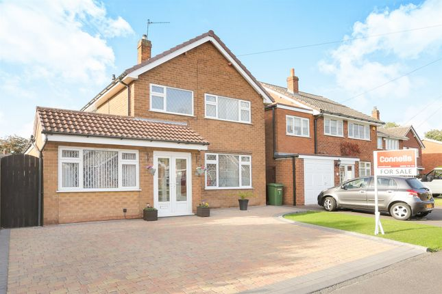 Thumbnail Detached house for sale in Hawthorne Road, Wednesfield, Wolverhampton