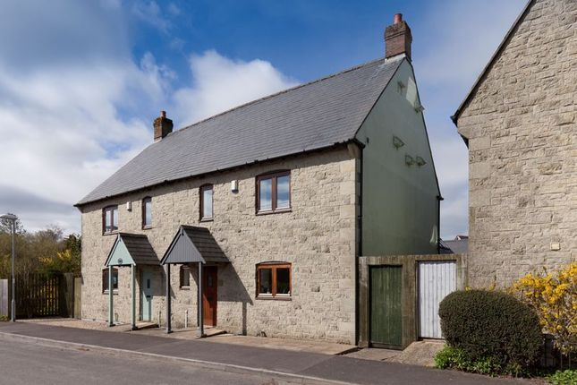 Thumbnail Semi-detached house for sale in Front Horsehill Lane, Donhead St. Mary, Shaftesbury