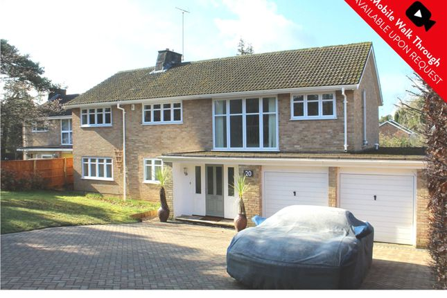 Thumbnail Detached house for sale in Green Hill Road, Camberley, Surrey