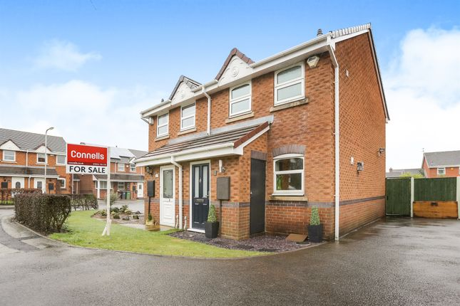 Thumbnail Semi-detached house for sale in Heather Close, Yale Estate Wednesfield, Wolverhampton
