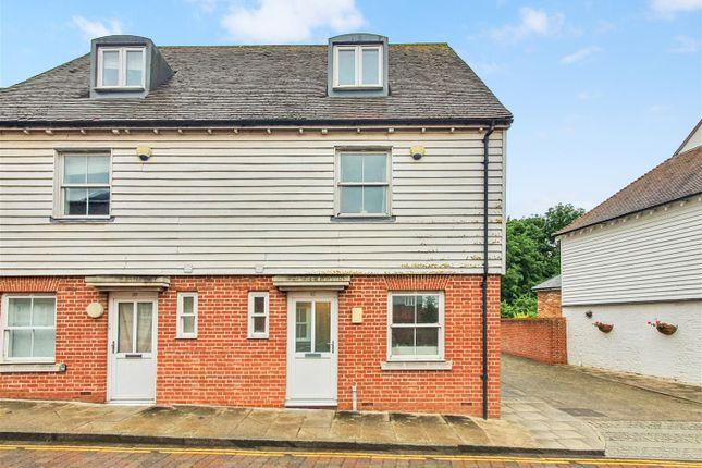 Thumbnail End terrace house for sale in Barton Mill Road, Canterbury