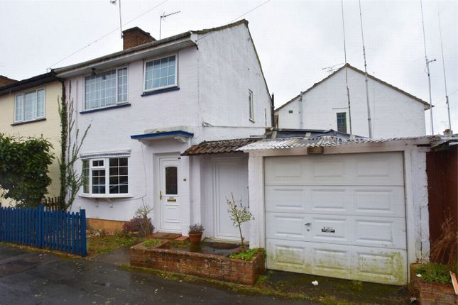 Thumbnail Semi-detached house for sale in Alexandra Avenue, Camberley, Surrey