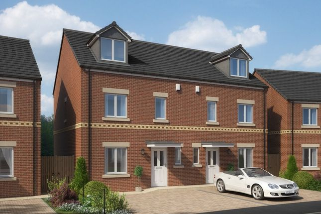Thumbnail Semi-detached house for sale in Bedford Sidings, South Church Road, Bishop Auckland, County Durham