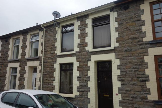 Thumbnail Terraced house to rent in Treasure Street, Treorchy