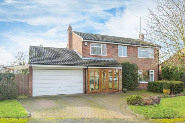 Thumbnail Detached house for sale in Chestnut Close, Dagnall, Berkhamsted