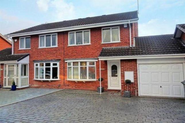 Thumbnail Semi-detached house for sale in Rudyard Close, Wolverhampton