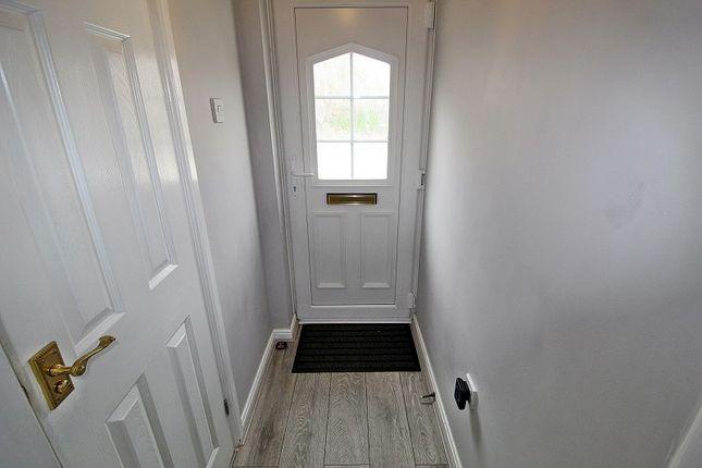 Hallway of Stryd Silurian, Llanharry, Pontyclun, Rhondda, Cynon, Taff. CF72