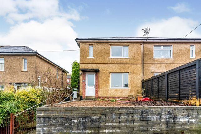 Thumbnail Semi-detached house for sale in Oakland Crescent, Cilfynydd, Pontypridd