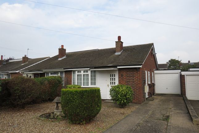 Thumbnail Semi-detached bungalow for sale in Worcester Close, Newport Pagnell