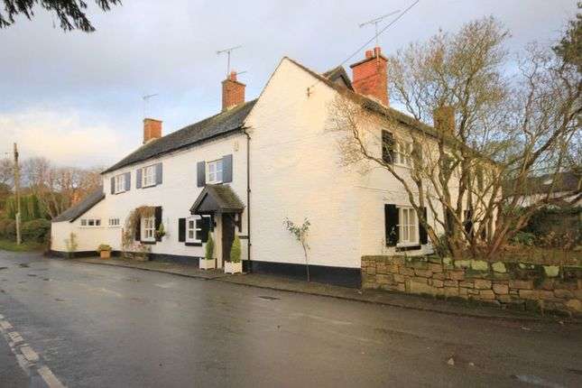Thumbnail Detached house for sale in Manor Lane Leigh, Stoke-On-Trent