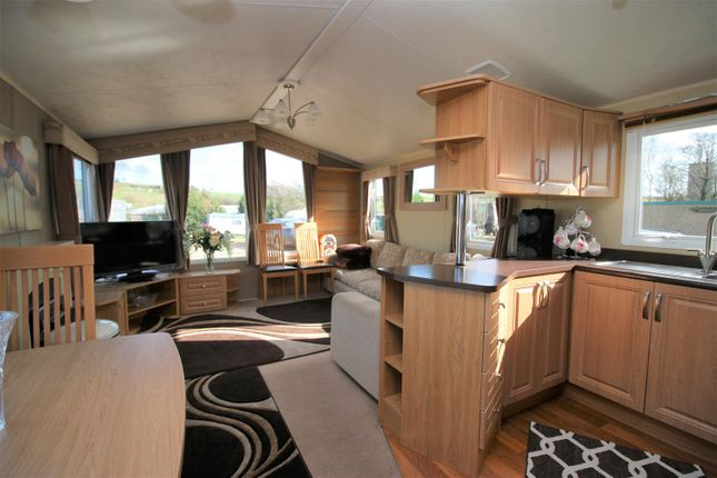 Living Area of Holiday Park Home, Scotforth, Lancaster LA2