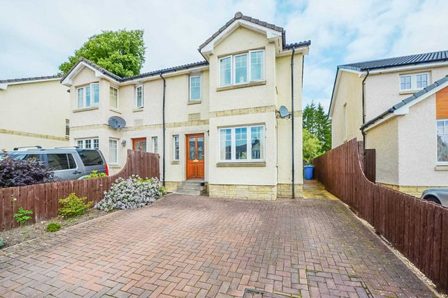 Thumbnail Semi-detached house for sale in South Park Grove, Biggar