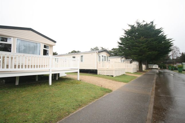 Thumbnail Property for sale in Delta Phoenix, Sandford Holiday Park, Poole, Dorset