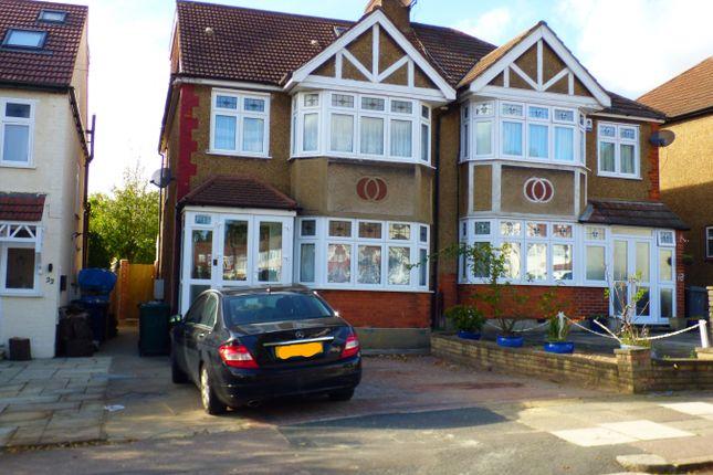 Thumbnail Semi-detached house to rent in Daneland, East Barnet, Barnet
