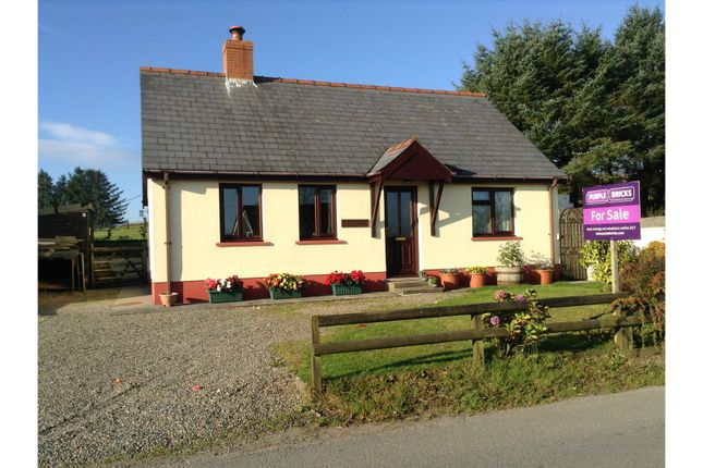 Thumbnail Detached bungalow for sale in Tegryn, Llanfyrnach