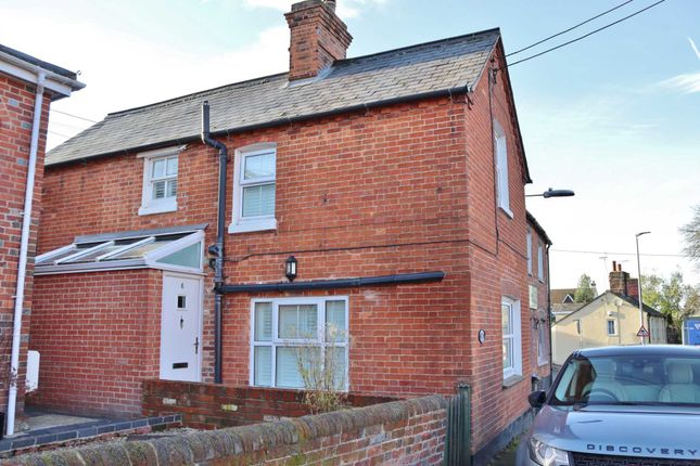 Thumbnail Semi-detached house for sale in Park Street, Hungerford