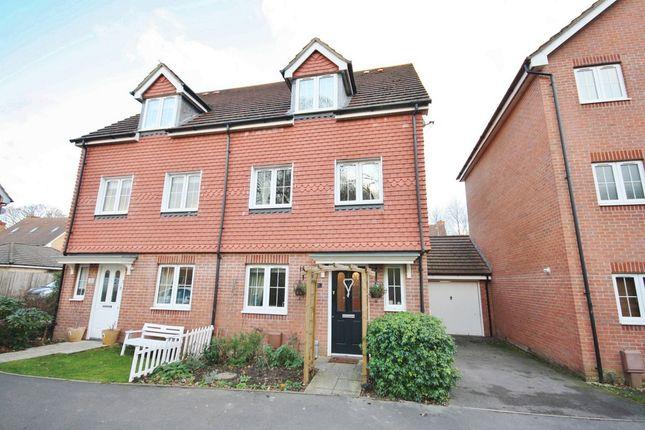 Thumbnail Semi-detached house for sale in Eliot Close, Whiteley, Fareham