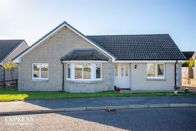 Thumbnail Detached bungalow for sale in Homefarm Place, Rothienorman, Inverurie, Aberdeenshire