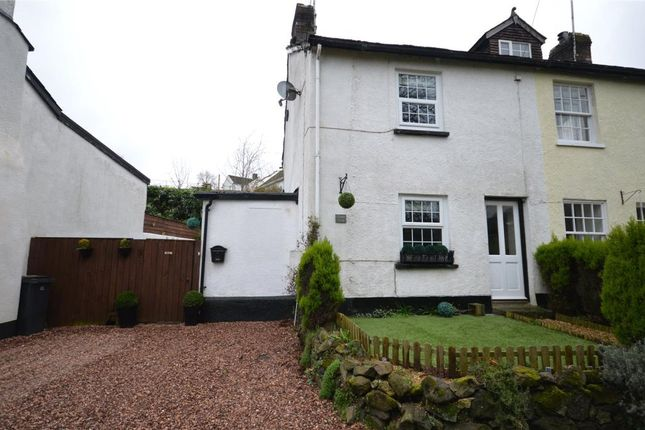 Thumbnail End terrace house for sale in Village Road, Christow, Exeter, Devon