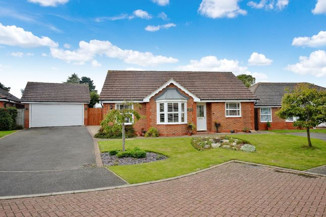 Thumbnail Bungalow for sale in Goddard Close, Bushby, Leicester