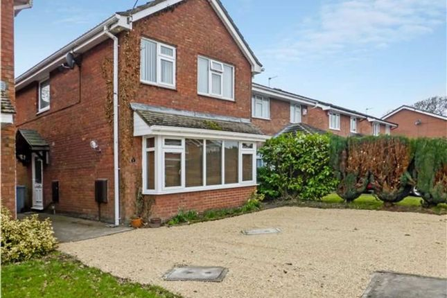 4 bed detached house for sale in Hankelow Close, Middlewich, Cheshire