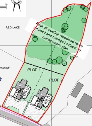 Thumbnail Land for sale in Plot 1 Shrubbery Road, Red Lake, Telford