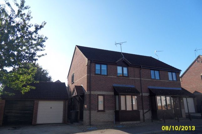 Thumbnail Semi-detached house to rent in Kings Road, Bungay, Suffolk