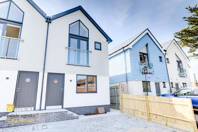 Thumbnail Semi-detached house for sale in Eirene Avenue, Goring By Sea, West Sussex