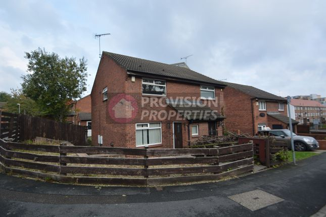 Thumbnail Semi-detached house to rent in Well Close Rise, City Centre, Leeds