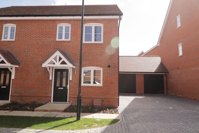 Thumbnail Semi-detached house to rent in Moore Drive, Wellesley, Aldershot