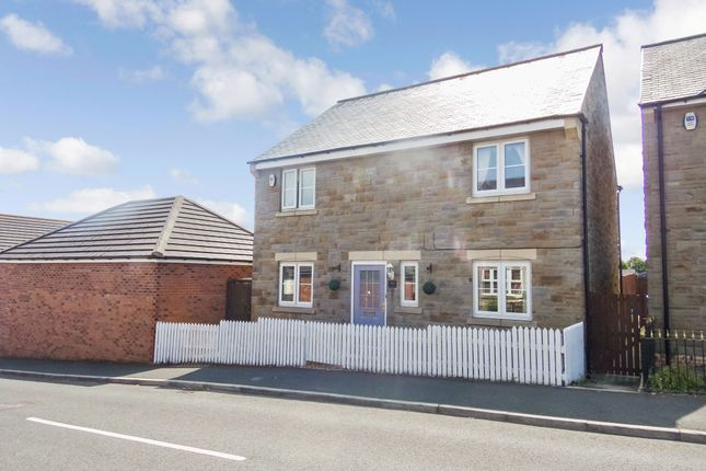 Thumbnail Detached house for sale in Tyelaw Meadows, Shilbottle, Alnwick