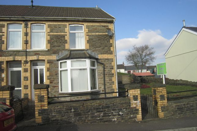 Thumbnail Semi-detached house for sale in Maesygraig Street, Gilfach