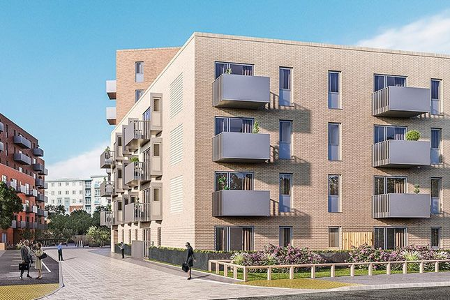 Thumbnail 1 bed flat for sale in New Development, Central Slough, Slough