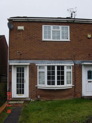 Thumbnail Semi-detached house to rent in Crawford Rise, Arnold, Nottingham
